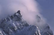 top in de mist